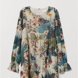 MAMA patterned tunic